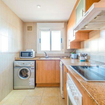Cocina Apartamento Oromarina Azahar